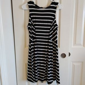 [Mossimo] Black Stripe Dress
